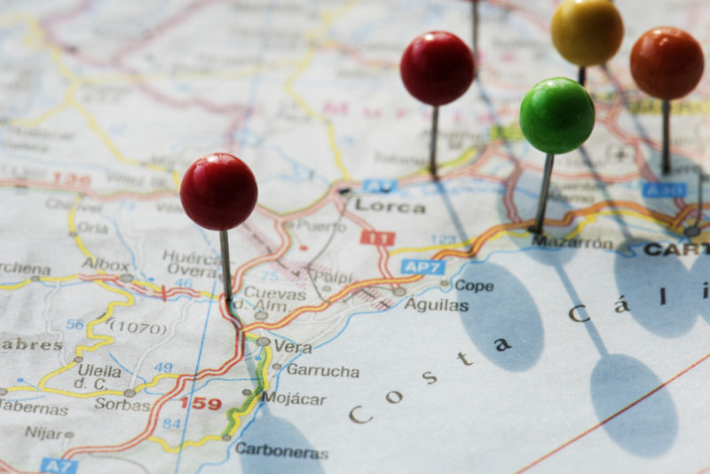 Multiple location geo targeting