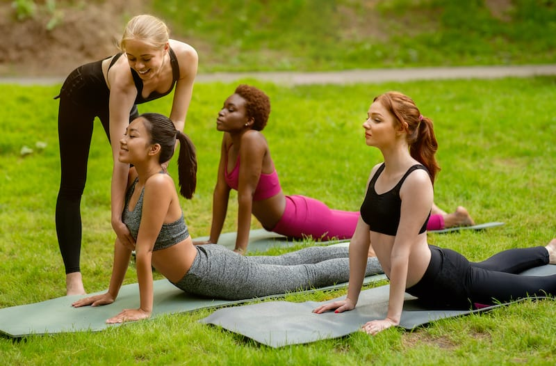 Yoga instructor courses